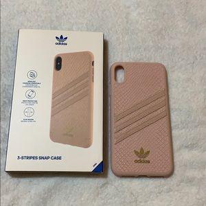 iPhone XS Max adidas blush pink Case